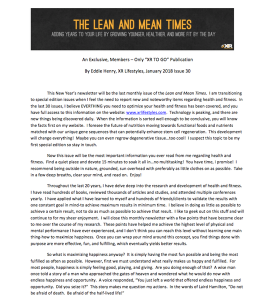 The Lean and Mean Times - ISsue 30