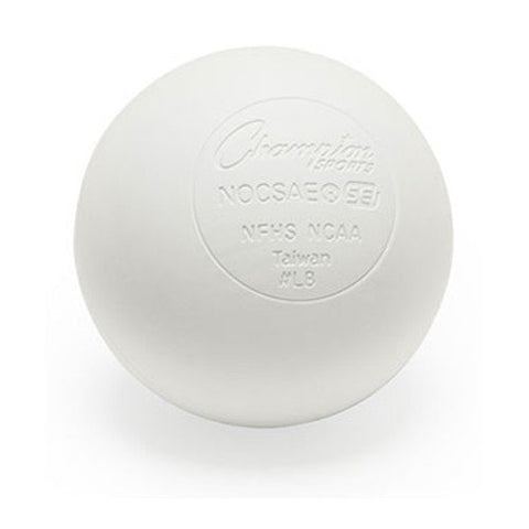 Lacrosse Balls - NCAA NFHS Certified - White