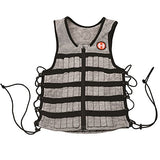 Hyperwear Hyper Vest PRO Unisex 10-Pound Adjustable Weighted Vest for Fitness Workouts, Medium, Grey