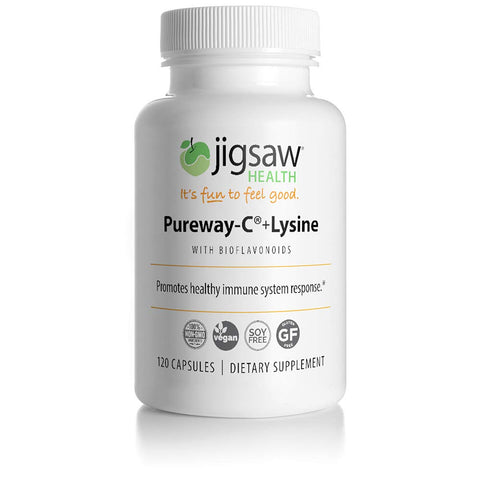 Jigsaw Health - Pureway-C + Lysine with Bioflavonoids - 120 Count