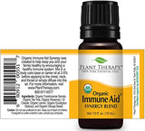 Plant Therapy Immune Aid Organic Synergy Essential Oil 10 mL (1/3 oz) 100% Pure, Undiluted, Therapeutic Grade
