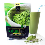 Jade Leaf Matcha Green Tea Powder - USDA Organic, Authentic Japanese Origin - Classic Culinary Grade (Smoothies, Lattes, Baking, Recipes) - Antioxidants, Energy [100g Value Size]