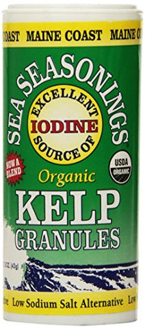 Maine Coast Sea Vegetables Organic Kelp Granules Salt Alternative 1.5 ounce