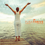 PuraTHRIVE Vitamin B12 Liquid Drops. Liposomal B12 in Methycobalamin form for Maximum Absorption and Potency. Vegan Friendly, GMO free, Made in USA.
