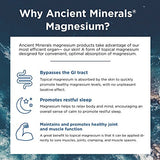 Ancient Minerals Magnesium Lotion 5 oz. - Pure Genuine Zechstein Magnesium Chloride Supplement - Best for Topical Skin Application on Sensitive Skin