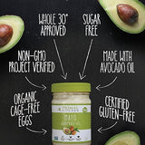 Primal Kitchen - Avocado Oil Mayo (See COLD WEATHER NOTICE BELOW), Gluten and Dairy Free, Whole30 and Paleo Approved (12 oz)