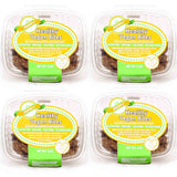Alyssa's Gluten Free Vegan Cookies (Pack of 4) - Gluten Free, Dairy Free, Non GMO, No Trans Fats, No Soy, No added sugar