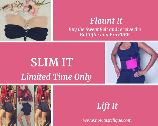 Flaunt It, Slim It, Lift It All in One Package(LIMITED TIME ONLY)