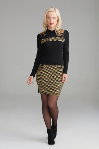 A2344 Retro Mini Skirt