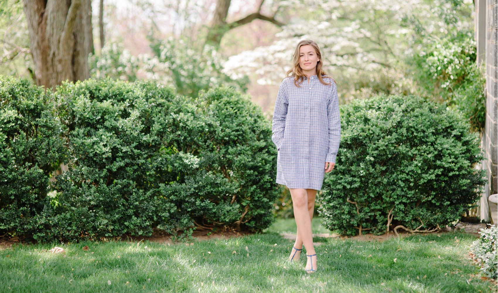 This is the perfect shirtdress