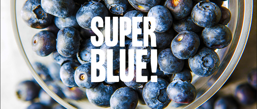 Blueberry: super blue and super fruit