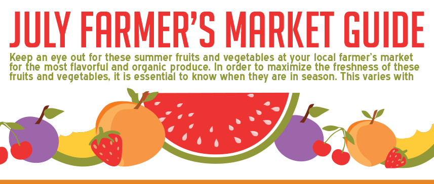 July Farmers Market Guide