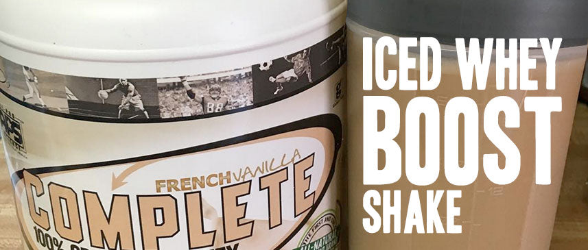 Iced Whey Boost Shake