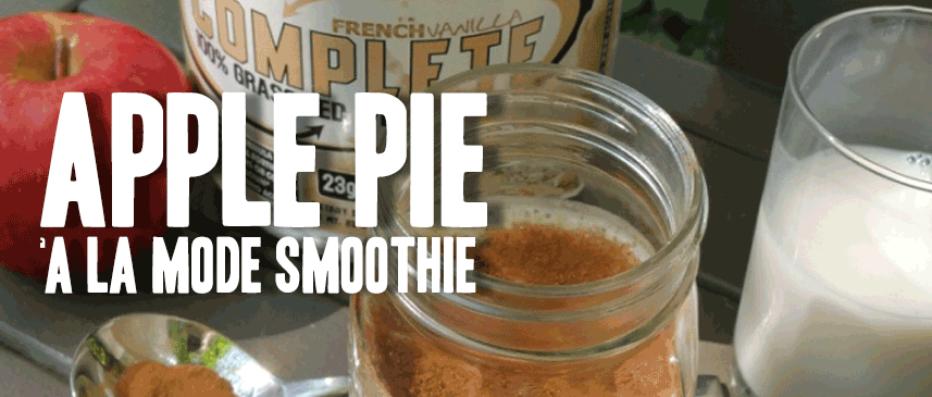 Apple Pie A La Mode Smoothie