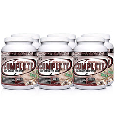 Complete 100% Grass Fed Whey Protein Case (6)