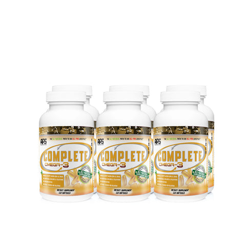 Complete Omega-3 Fish Oil Case (6)