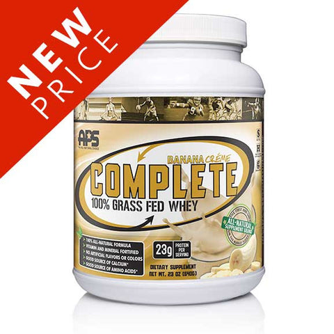 100% Grass Fed Whey- Banana Créme
