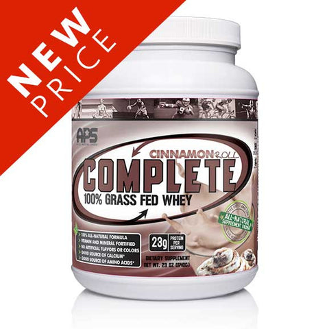 100% Grass Fed Whey- Cinnamon Roll