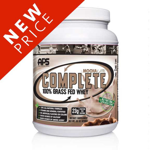 100% Grass Fed Whey - Mocha Latte