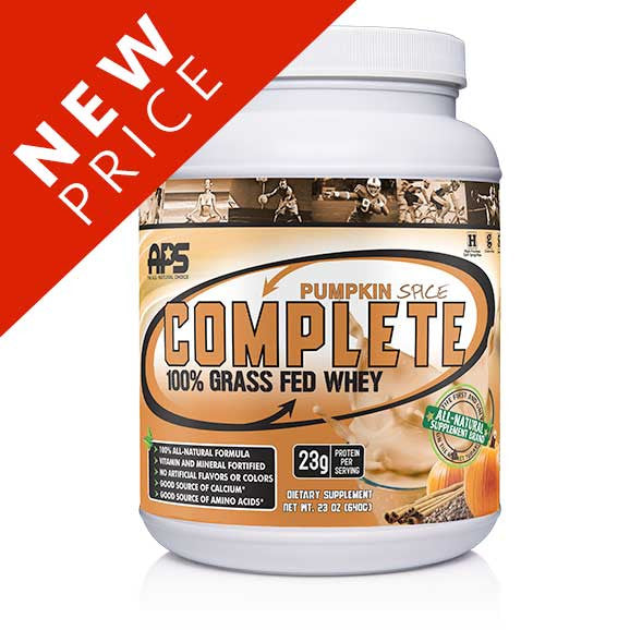 100% Grass Fed Whey- Pumpkin Spice
