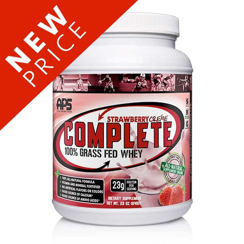 100% Grass Fed Whey - Strawberry Créme