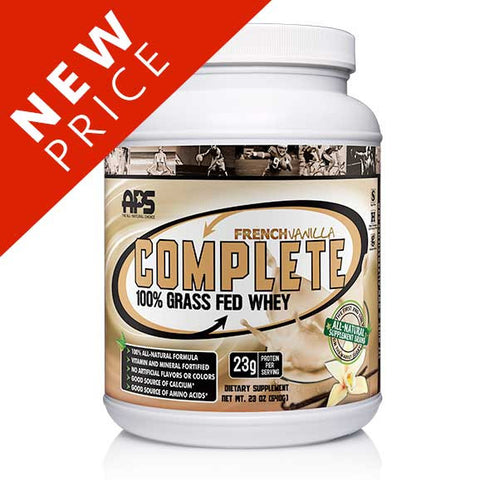100% Grass Fed Whey - French Vanilla