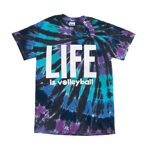 Life Volleyball Short Sleeve Tee Shirt