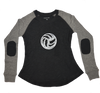 Volleyball Raglan Long Sleeve T-shirt (Youth Sizes)