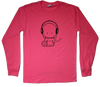 Volley Head Jerry Long Sleeve T-Shirt