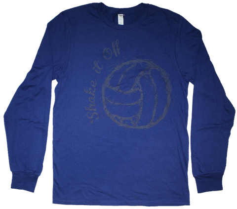 Shake It Off Volleyball Long Sleeve T-Shirt