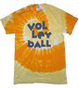 Black Friday Tie Dye Volleyball Shirt