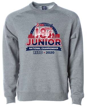 USAV 18s Event Logo Crew Neck Sweatshirt