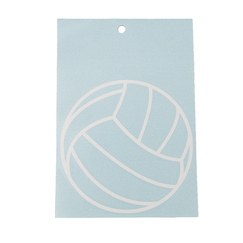 Volleyball Outline Decal