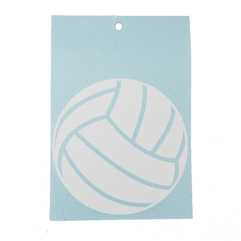Volleyball Solid Decal