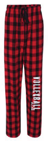 Archie PJ Pants Black/Red Buff Plaid