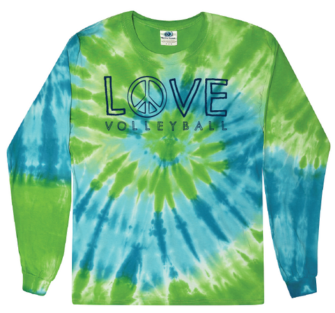 Marley Tie Dye Long Sleeve Tee