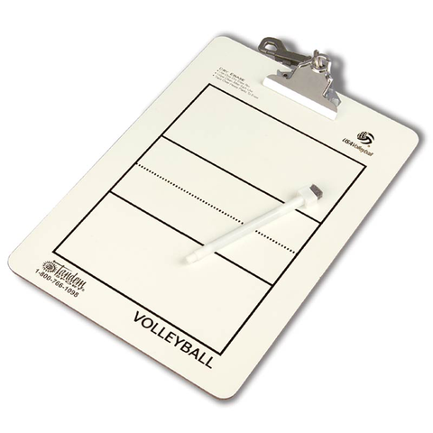 Tandem Coaches Volleyball Clipboard