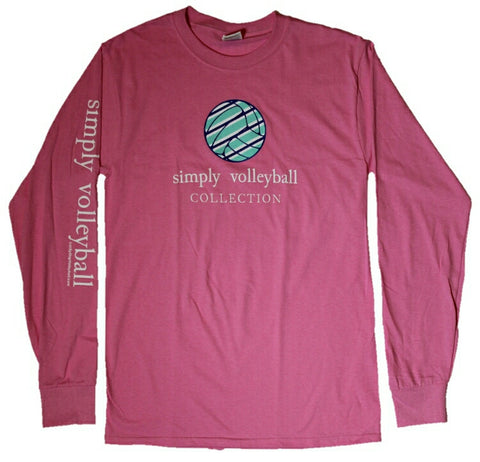 Simply Volleyball Long Sleeve T-Shirt