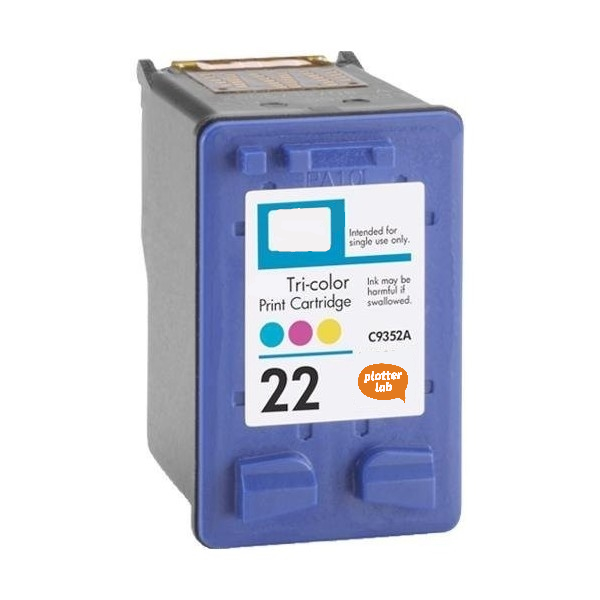 Tinteiro Reciclado HP 22 XL 18ml