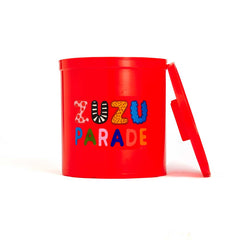 Plastic toy bucket from Zuzu Parade