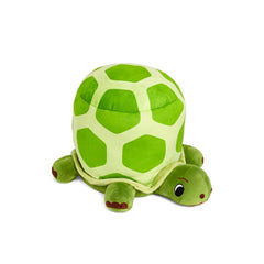 Plush turtle stool from Zuzu
