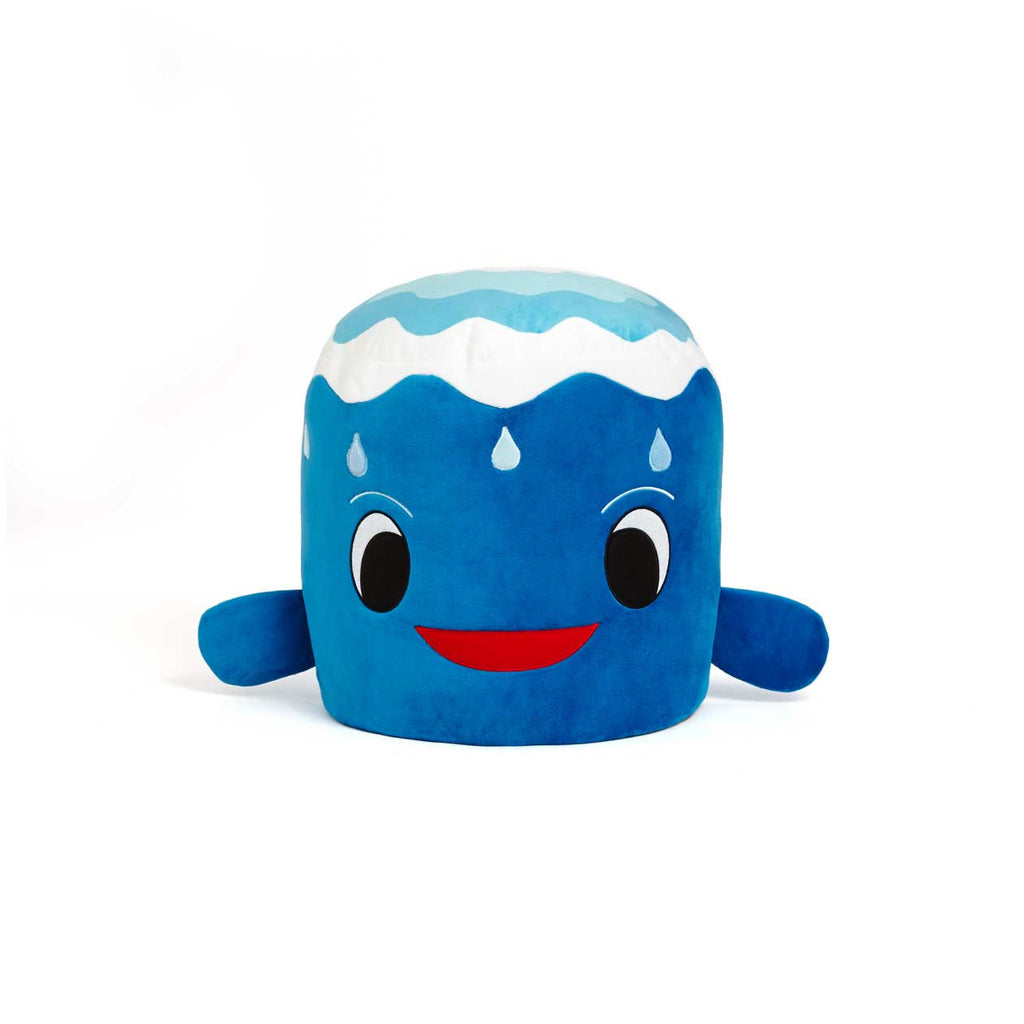 Plush whale chair from Zuzu