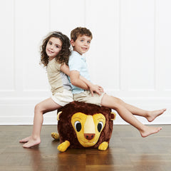 Plush lion chair is a unique toy