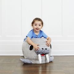 Plush walrus chair. Perfect stools for kids!