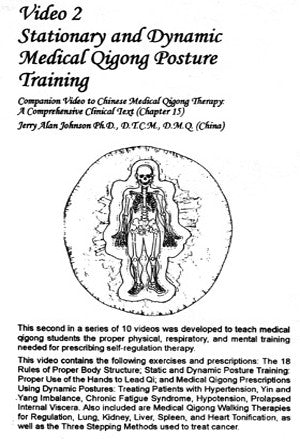 Chinese Medical Qigong Therapy DVD 2