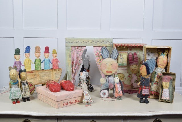 Julie Arkell Creatures & Dolls Collection