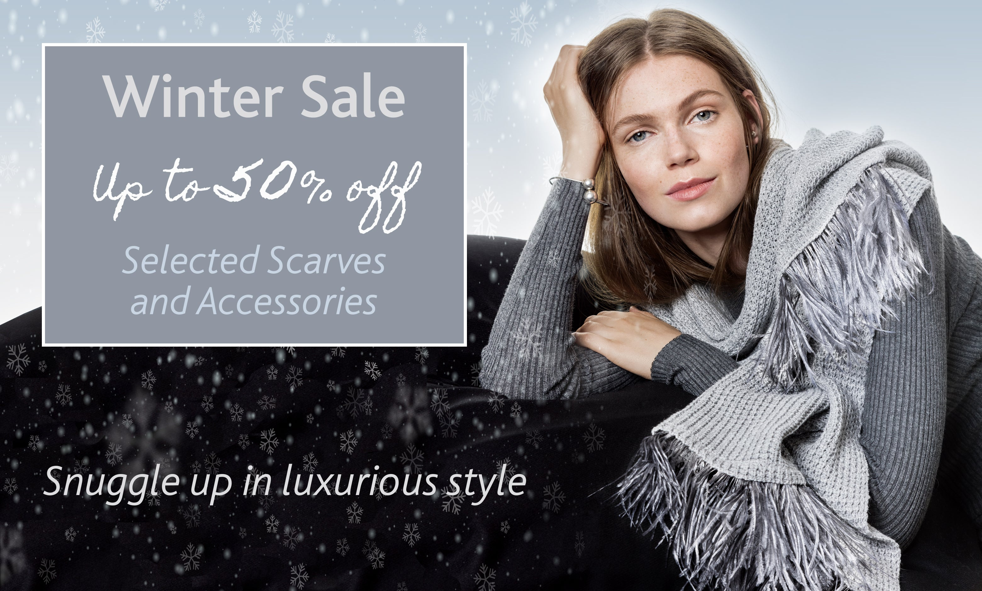 Winter Sale Scarves and Accessories