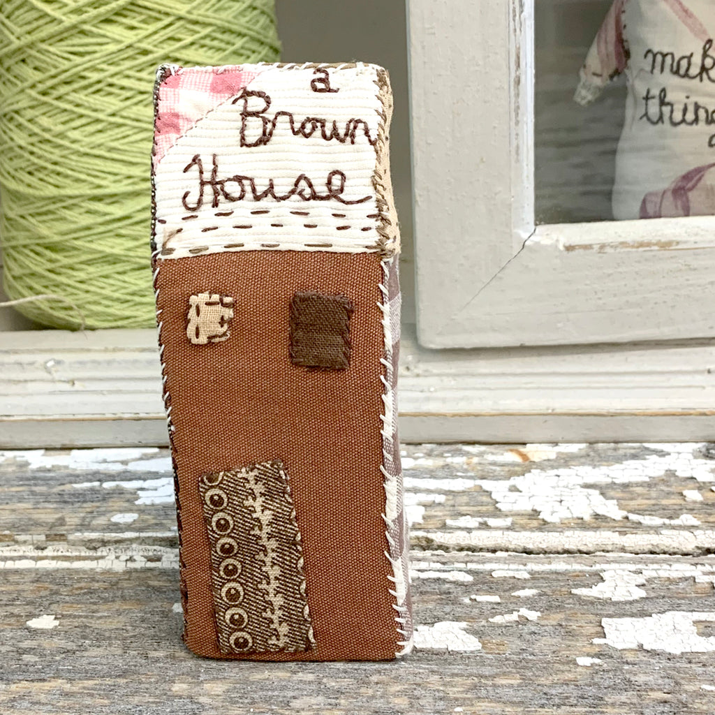 Julie Arkell Creature - 'A Brown House'.