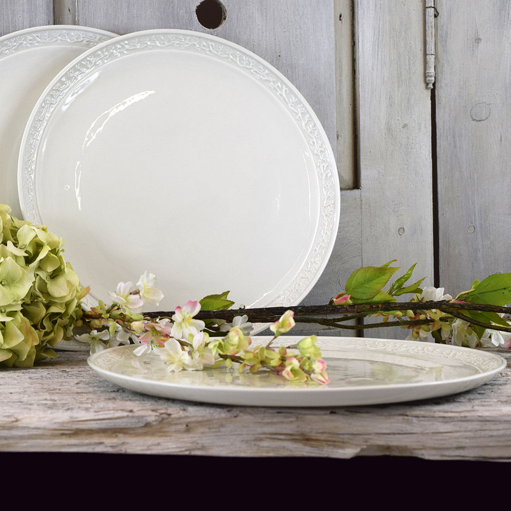 handmade french decorative dinner plates curated living