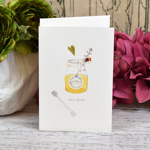 Elena Deshmukh Card, Bee Mine.